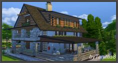 Ladesire's creative corner): TS4 - CHALET by Tanitas8