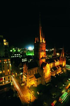 Melbourne has some amazing churches and cathedrals dotted around the place..