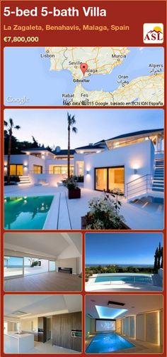 Villa for Sale in La Zagaleta, Benahavis, Malaga, Spain with 5 bedrooms, 5 bathrooms - A Spanish Life Malaga Spain, Taking Shape, Murcia, Best Location, Seville, Bath, Entertaining, Building, Modern