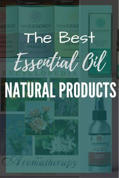 The Best Essential oil Natural Products.