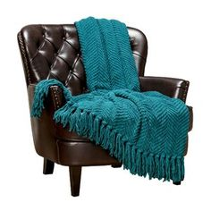 Chanasya Textured Knitted Super Soft Throw Blanket with Tassels Warm Cozy Lightweight Fluffy Woven Blanket for Bed Sofa Chair Couch Cover Living Bed Room Acrylic Throw Blanket Inches) Teal Fluffy Blankets, Comfy Blankets, Knitted Blankets, Knitted Fabric, Sofa Chair, Sofa Bed, Dining Chair, Armchair, Teal Throw Blanket