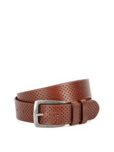 Via Spiga Perforated Leather Belt