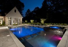 Geometric Pool and Spa Design