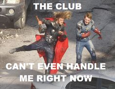 omfg, why is this so hilarious? DANCERS ASSEMBLE! bahaha #crying #avengers