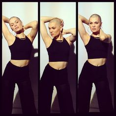 Jessie J Shaves Hair For Comic Relief #jessiej #comicrelief