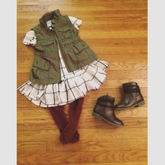 @browngirlrising  Baby girl fall fashion courtesy of Old Navy