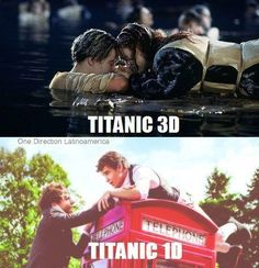 one direction funny #titanic