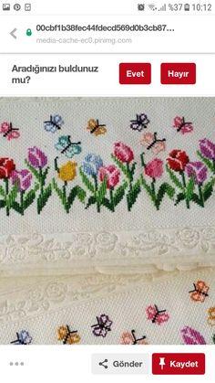 Terra Cotta, Pixel Art, Tulips, Cross Stitch, Drop Cloths, Cross Stitch Embroidery, Log Projects, Small Cross Stitch, Border Tiles