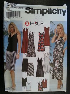 Simplicity 5956 Misses 2 Hour Summer Knit by Noahslady4Patterns