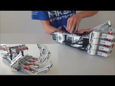 How to Make a Robotic Arm at Home out of Cardboard - YouTube