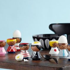 Bordfolk Egg Cups by Lucie Kaas (20 Styles)