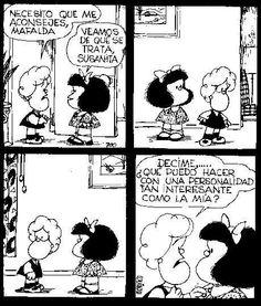 Quino | Mafalda Susanita y su personalidad... xD