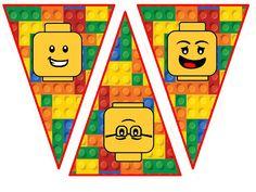 Lego Face Banner