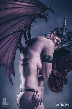 Aspen Comics Dark Grace from Soulfire Photographer: David Love