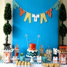 Modern Baby Shower Themes