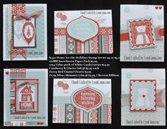 Home for the Holidays Cards by Lynn Como Christmas Cards 2017, Christmas Card Crafts, Xmas Cards, Christmas 2015, Christmas Ideas, Heart Projects, Make Your Own Card, Heart Cards, Winter Cards