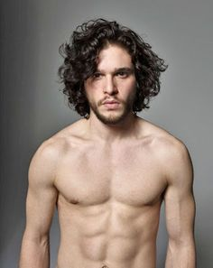 Kit Harington. Oh good lord, Jon Snow. Yummy