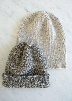"""""""The Boyfriend Hat"""" free knitting pattern by Purl Soho / The Purl Bee Knitting Patterns Free, Knit Patterns, Free Knitting, Free Pattern, Sewing Patterns, Knitting Yarn, Purl Bee, Knit Or Crochet, Crochet Hats"""