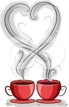 """(no words - """"Coffee Love ♡"""") Coffee Heart, Coffee Talk, Coffee Is Life, I Love Coffee, Coffee Break, My Coffee, Morning Coffee, Coffee Shop, Coffee Cups"""