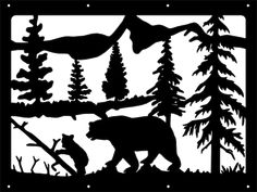 Bear, Cub, Scenery, trees, Nature, Climb, Mountains, Advertise with Decals, ALL sizes AVAILABLE, MANY colors AVAILABLE,  JP DECALS  DESIGNS- GUARANTEED To Last for 6 Years w/ Indoor and/or outdoor use ! ** Buy ANY two decals get one FREE! ** To Order - J_Podolak89@hotmail.com or https://www.JPDD.tk **