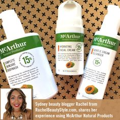 Sydney beauty blogger Rachel from RachelBeautyStyle.com, shares her experience using the McArthur Natural Products' Gentle Cream Cleanser, Hydrating Facial Cream and Complete Skincare Body Wash, as part of her transition to natural skincare products. Read her blog post here: https://rachelbeautystyle.com/2016/09/29/brand-focus-mcarthur-natural-products/ And follow her on Instagram @rachelbeautystyle #mnp #mcarthursnaturalproducts #cleanser #serum #moisturiser #natural #beauty #beautytalk