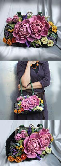 Hand felted bag - https://sorihe.com/womenshandbags/2018/02/12/hand-felted-bag-2/