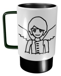 Angel Hero Mug / #Tableware #Boy