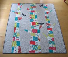 Trees and Birds Quilt