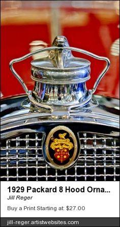 1929 Packard 8, Packard Hood Ornament