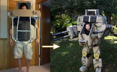 【RT200UP】 お父さんはがんばった!自分駆動の我が子を乗せたモビルスーツ、堂々完成! http://karapaia.livedoor.biz/archives/52203593.html…