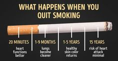 A real incentive to quit for good!