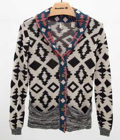 Gimmicks by BKE Southwestern Cardigan Sweater - Women's Cardigans   Buckle