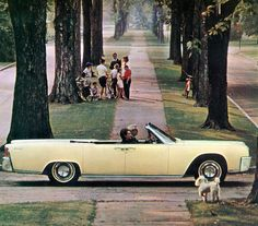 1964 Lincoln Continental Convertible by coconv, via Flickr
