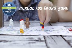 Make a Cereal Box Board Game . Activities for Kids: Adventures In Learning . PBS Parents | PBS