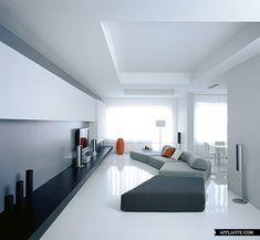 Contemporary Apartment Interior in Moscow // UB.Design | Afflante.com