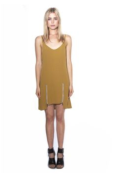Fine N Funky | Stone Cold Fox Bolas Dress in Mustard Designer Clothing