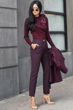 Wear to Work Style business outfit 35 Casual Winter Outfits Ideas Can Wear to Work Classy Business Outfits, Trajes Business Casual, Business Outfit Frau, Business Professional Outfits, Classy Work Outfits, Winter Outfits For Work, Work Casual, Women's Casual, Winter Clothes