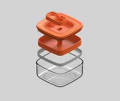 Exploded View, Industrial Design Sketch, Medical Design, Plastic Design, Consumer Products, Box Packaging, 3d Design, Portfolio Design, Design Inspiration