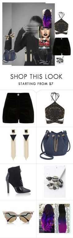 """Wherever I Go #OneRepublic"" by diane-ds ❤ liked on Polyvore featuring River Island, Topshop, INC International Concepts, 3.1 Phillip Lim, Forever 21 and Fendi"
