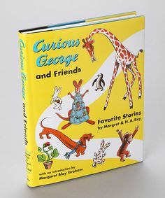 Take a look at this Curious George and Friends: Favorite Stories Hardcover by Curious George Collection on #zulily today!