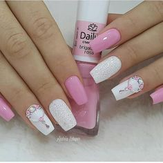 Summer is the season to rock beautiful sexy nails. There are a lot of beautiful trendy nails especia Best Acrylic Nails, Acrylic Nail Designs, Stylish Nails, Trendy Nails, Diy Nails, Cute Nails, Nagellack Design, Nail Art Designs Videos, Luxury Nails