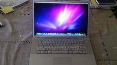 "Apple MacBook Pro 2008 Intel Core 2 Duo 2.4GHz 4GB RAM 200GB 15.4"" El Capitan"