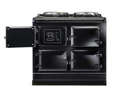 aga cooker fornuis total control zwart