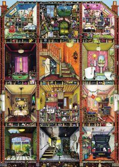 Puzzle Casa rara de Colin Thompson ( Ref: 0000019293 )