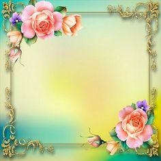 Use these garden border design clipart. Borders For Paper, Borders And Frames, Framed Wallpaper, Flower Wallpaper, Rose Frame, Flower Frame, Beautiful Flowers Wallpapers, Beautiful Roses, Frame Background