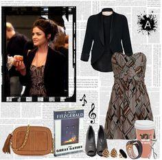 Camelia and Glitters: Dress like...Aria Montgomery