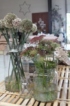 Tine K Home: Glass jars for flowers, candles or...