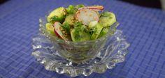 Cucumber Radish Salad - Marijuana Recipes - Powered by @ultimaterecipe