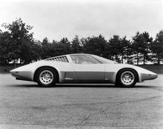 Chevrolet Aerovette concept, 1976.