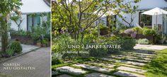 Geniesser-Garten : Befahrbarer Rasen - Schotterrasen fuer unsere Zufahrt